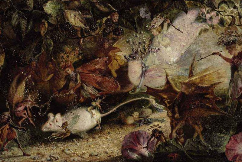 Fairyland by John Anster Fitzgerald