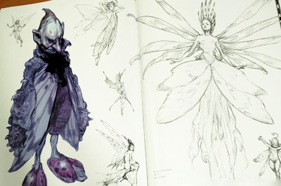 Fairies by Iain McCaig