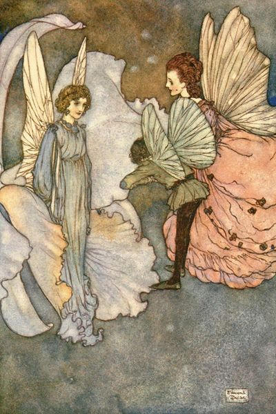 The Princess Orchid's Party by Edmund Dulac
