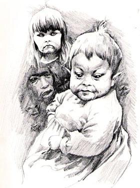 Changelings by Alan Lee