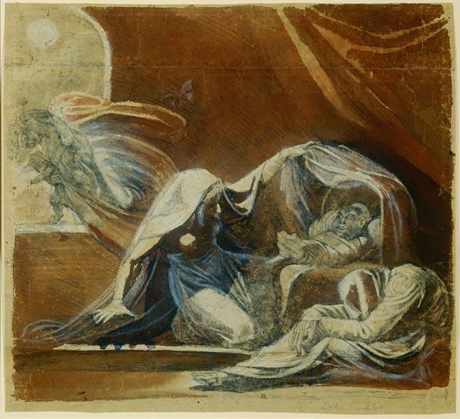 The Changeling, Abduction by Moonlight by Henry Fuessli