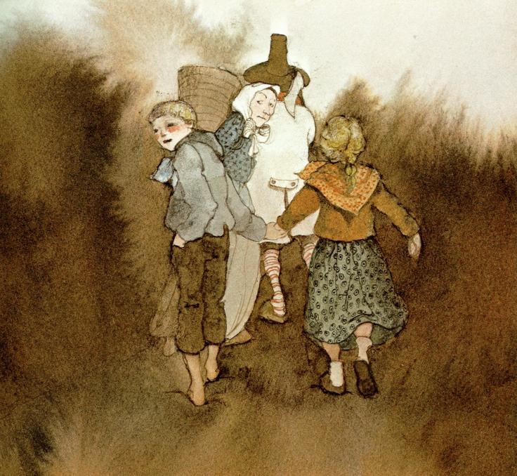 Hansel & Gretel by Lisbeth Zwerger