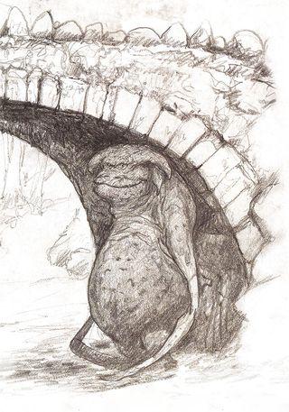 Bridge Troll by Brian Froud
