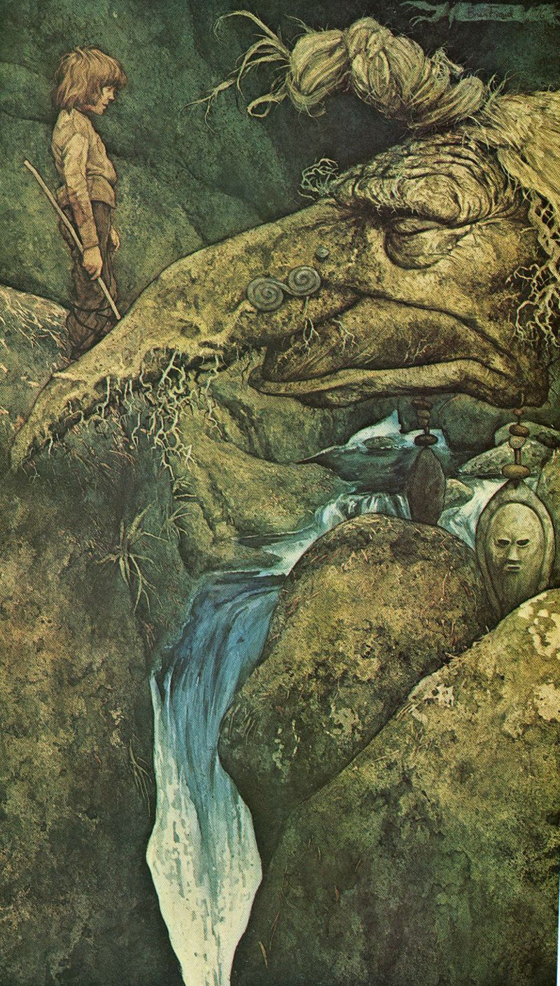 Earth and Water by Brian Froud