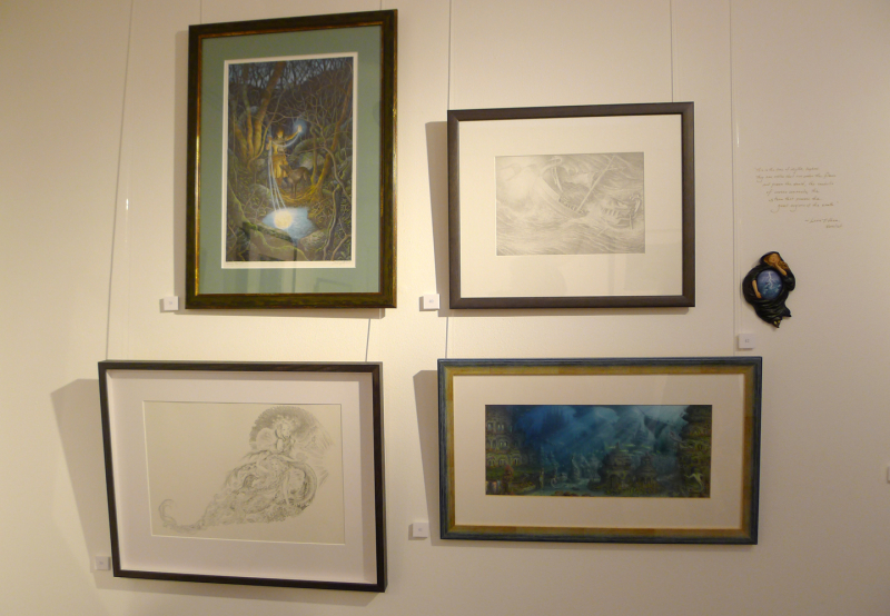 Works by David Wyatt, Marja Lee & Virginia Lee