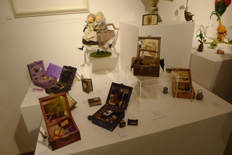 Faery boxes by Hazel Brown