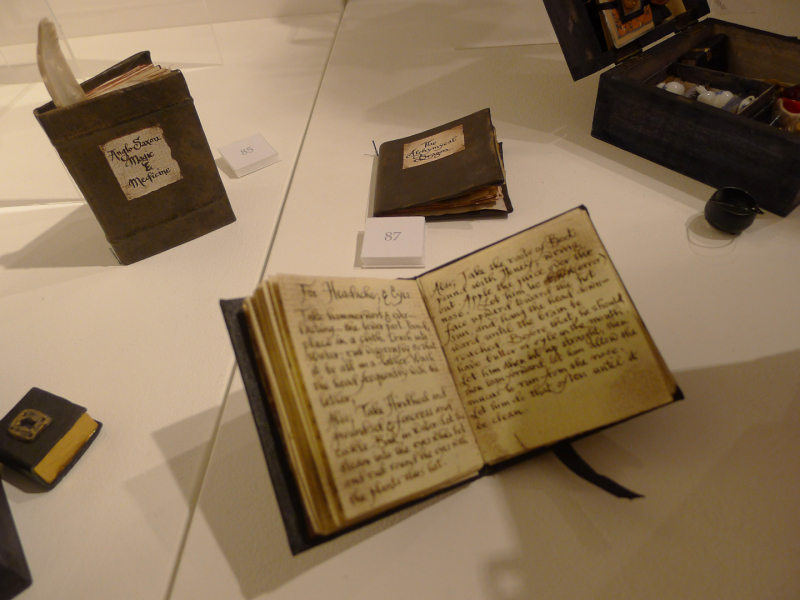 Faery books written and hand-bound by Hazel Brown