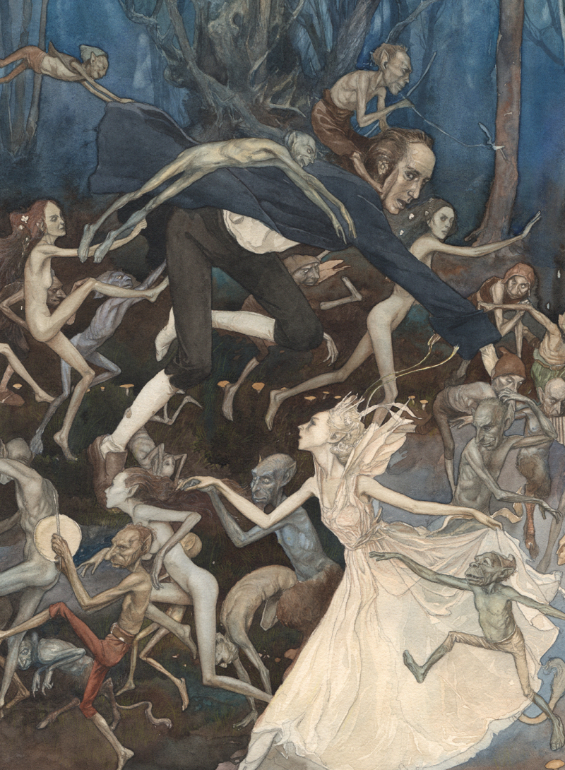 Faery Dance by Alan Lee