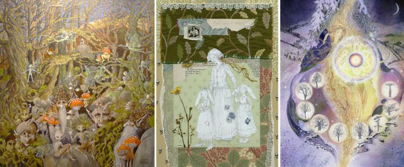 Hazel Brown, Terri Windling, Marja Lee