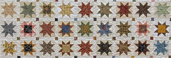 Old American quilt pattern