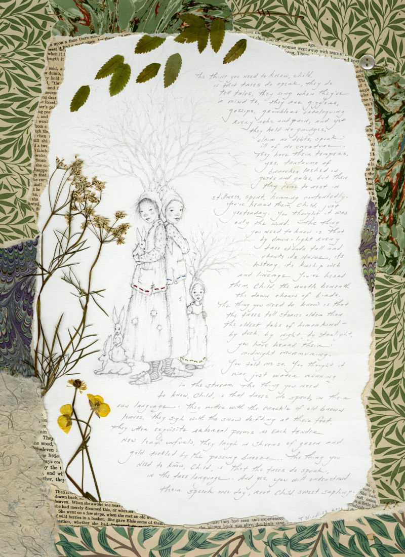 The Language of Trees by Terri Windling
