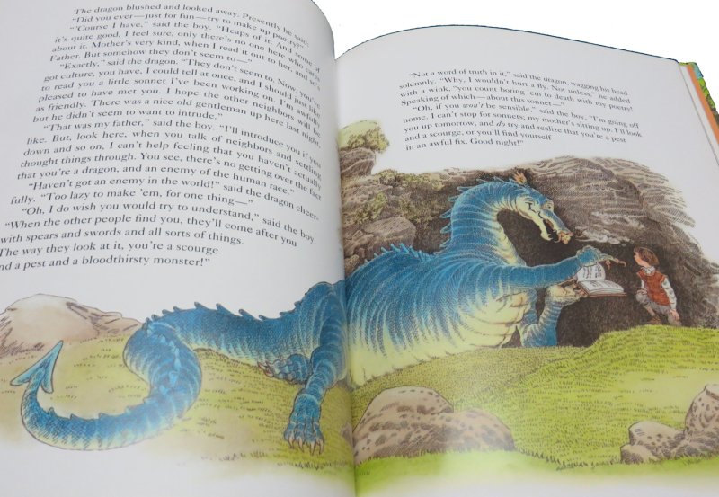 The Reluctant Dragon illustrated by Inga Moore