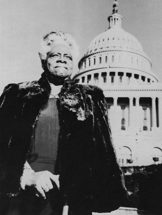 Educator and activist Mary McLeod Bethune