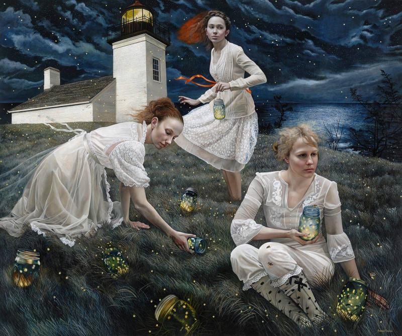 Light Keepers by Andrea Kowch