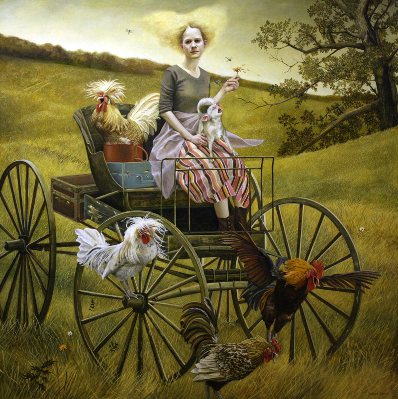 The Travelers by Andrea Kowch
