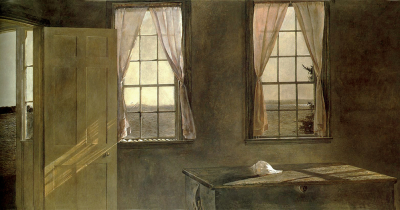 Her Room by Andrew Wyeth