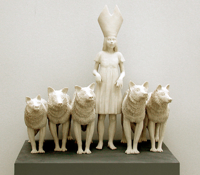 Pope Tricksie and the Wolves by Tricia Cline