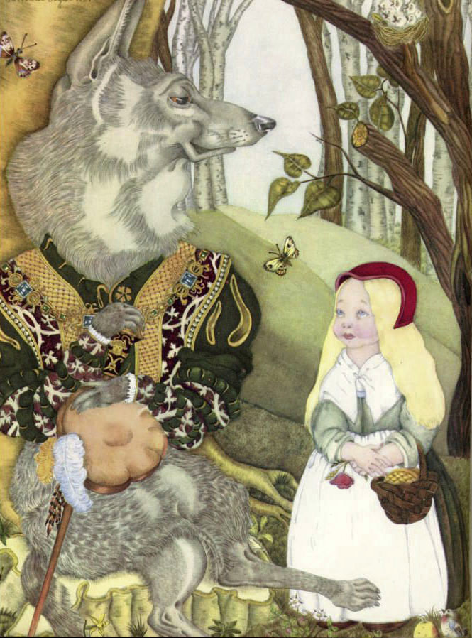 Little Red Riding Hood by Adrienne Segur