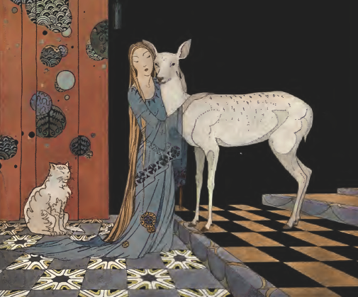 The White Deer by Virginia Frances Sterratt