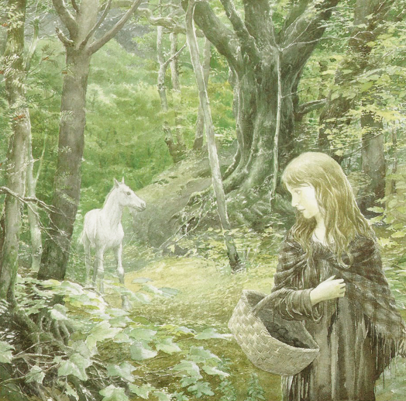 ''Merlin Dreams'' by Alan Lee