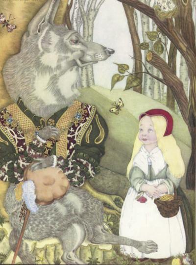 Little Red Riding Hood by Adrienne Segur