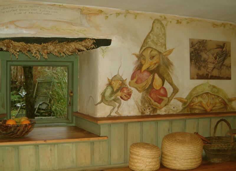 Kitchen goblins by Brian Froud
