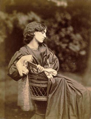 A photograph of Jane Morris