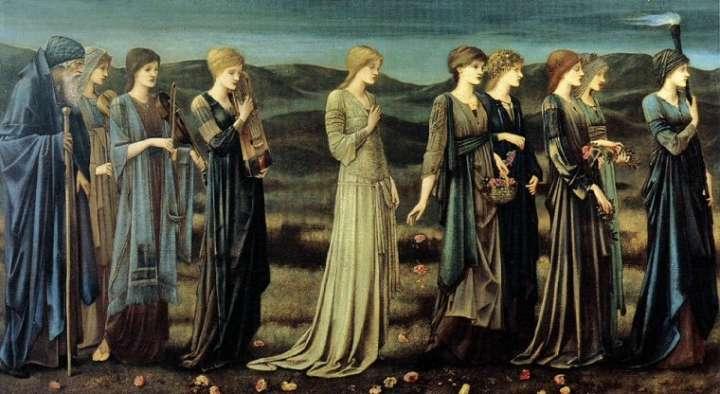 The Wedding of Psyche by Edward Burne-Jones