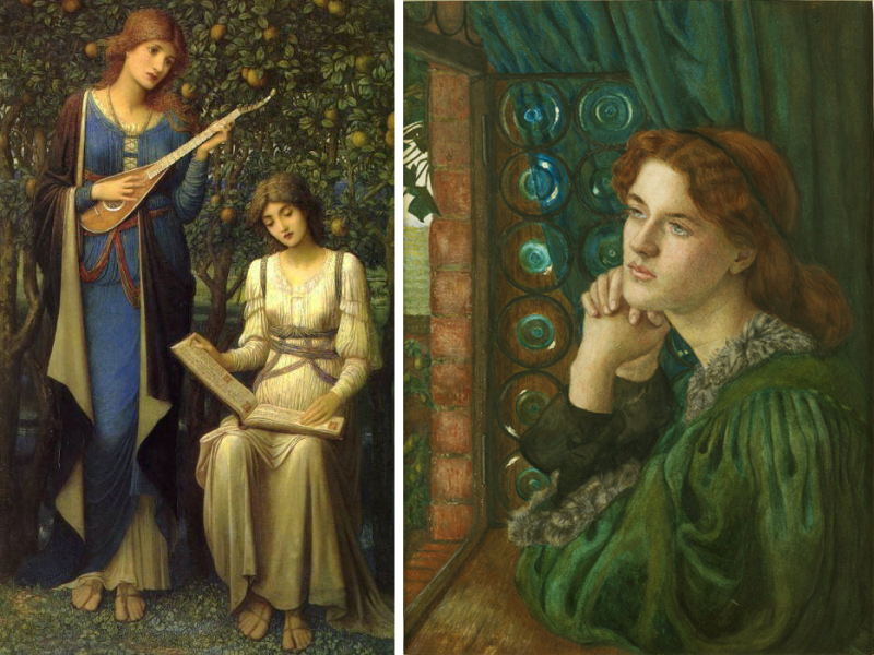 John Meluish Strudwick and Maria Spartali Stillman