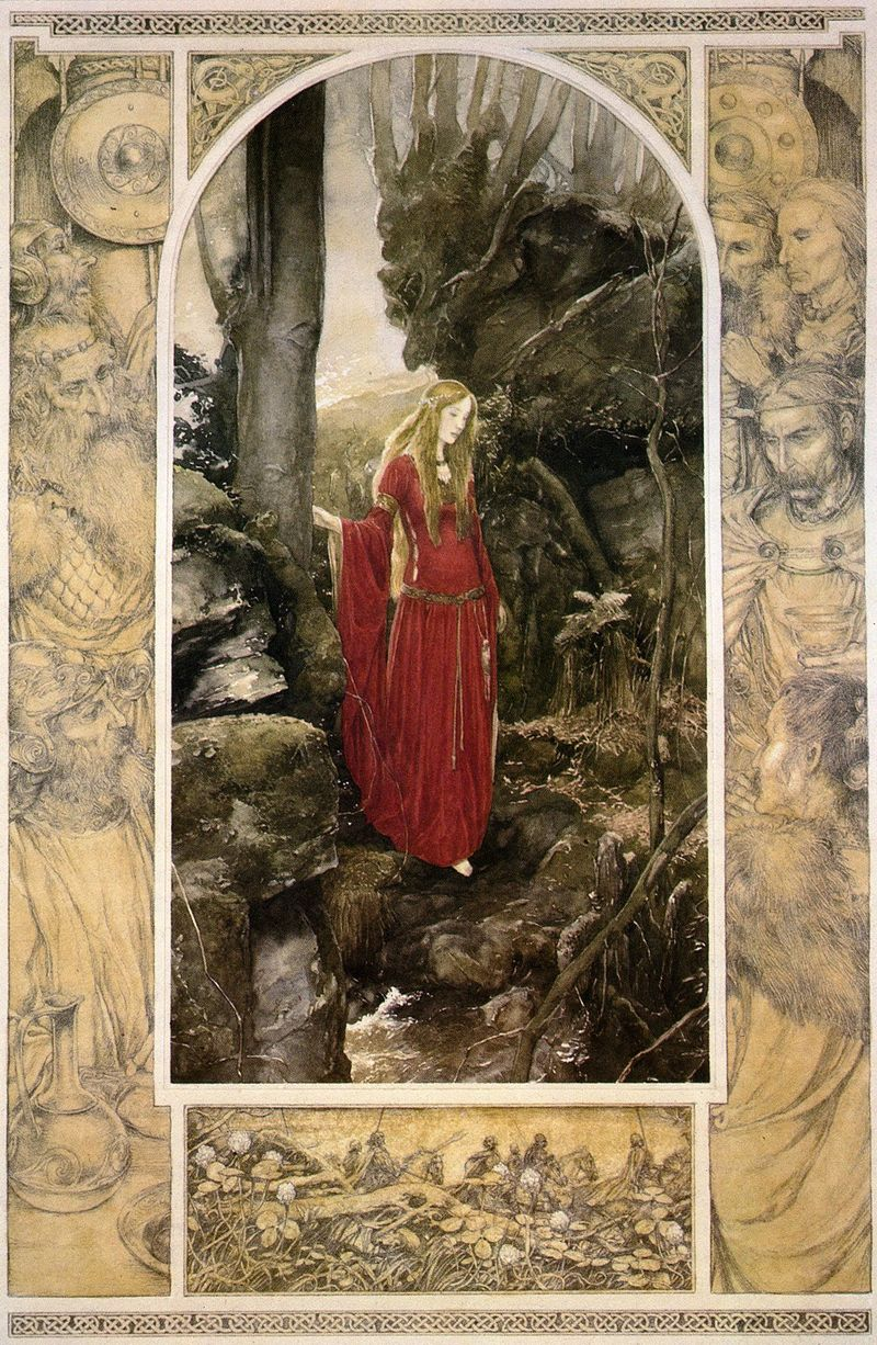 From the Mabinogion, illustrated by Alan Lee