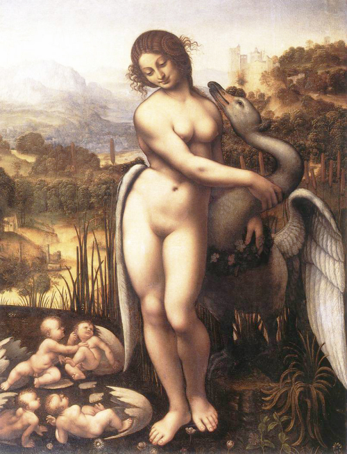 Ledo and the Swan by Leonardo da Vinci