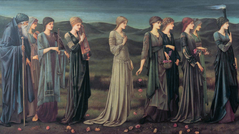 Psyche's Wedding by Edward Burne-Jones