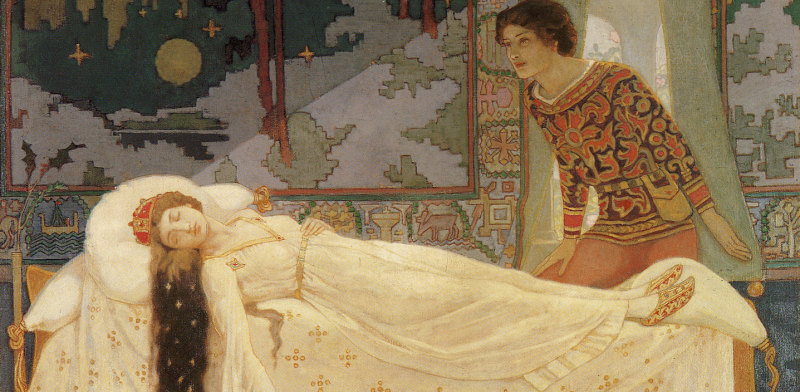 The Sleeping Princess by John Duncan