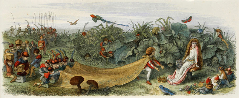 Fairy Prince in Love by Richard Doyle