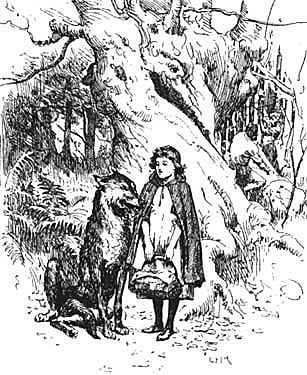 Little Red Riding Hood by G.P. Jacomb Hood