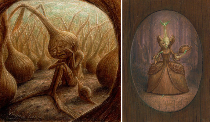 Onion Tears and The Liberation of Lady Sprout by Virginia Lee