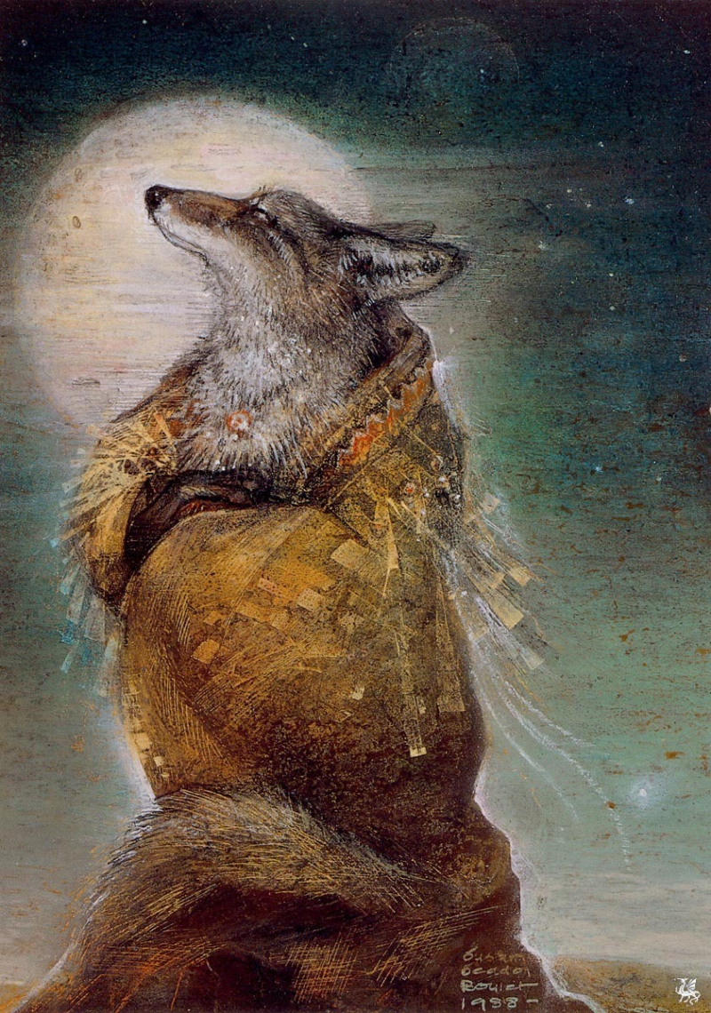 Coyote Steals Fire by Susan Seddon Boulet