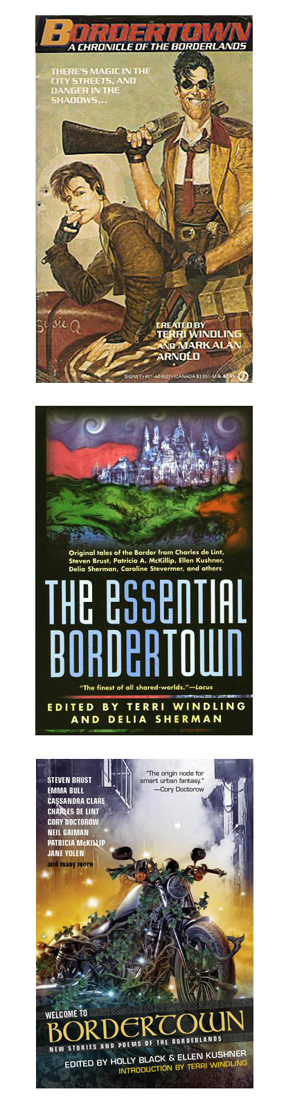 Bordertown, created by Terri Windling