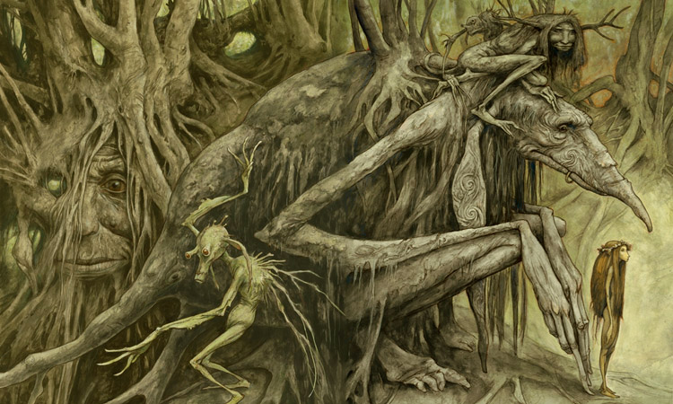 Trolls by Brian Froud