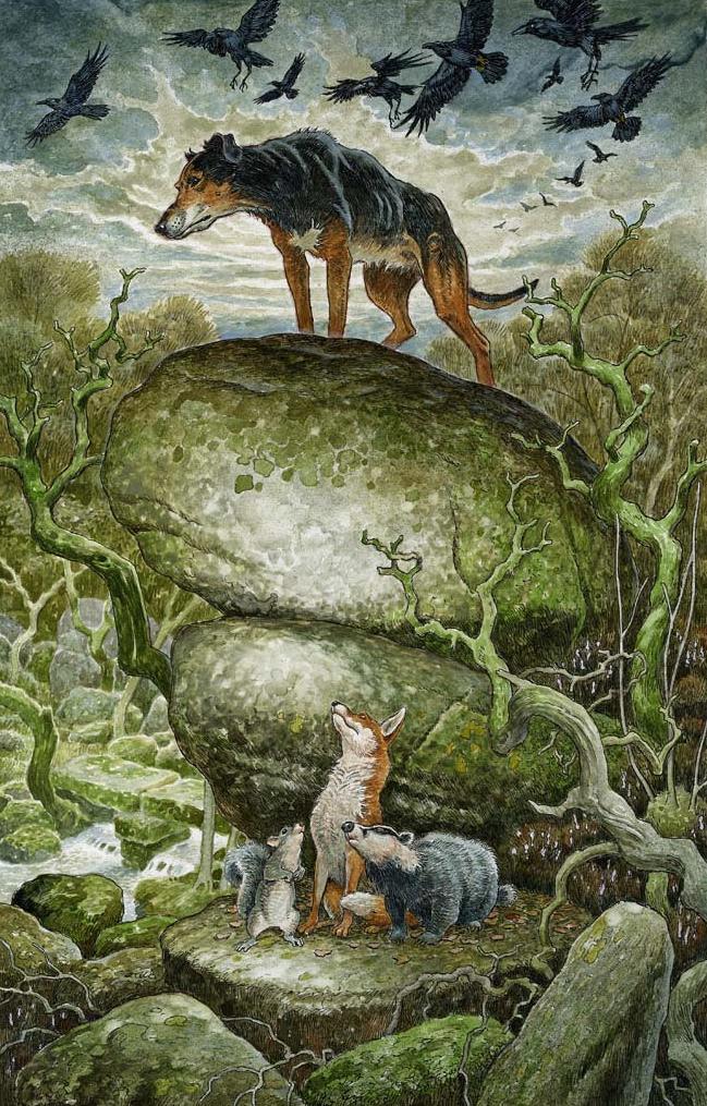 Warlock the Hunter by David Wyatt