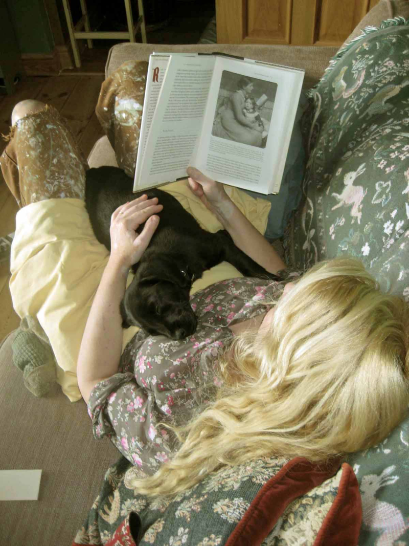 Reading with Tilly  2009