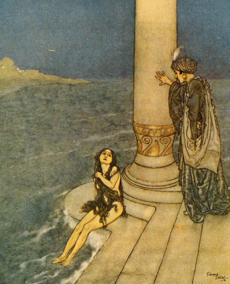The Little Mermaid by Edmund Dulac