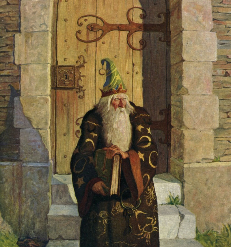 Merlyn by NC Wyeth