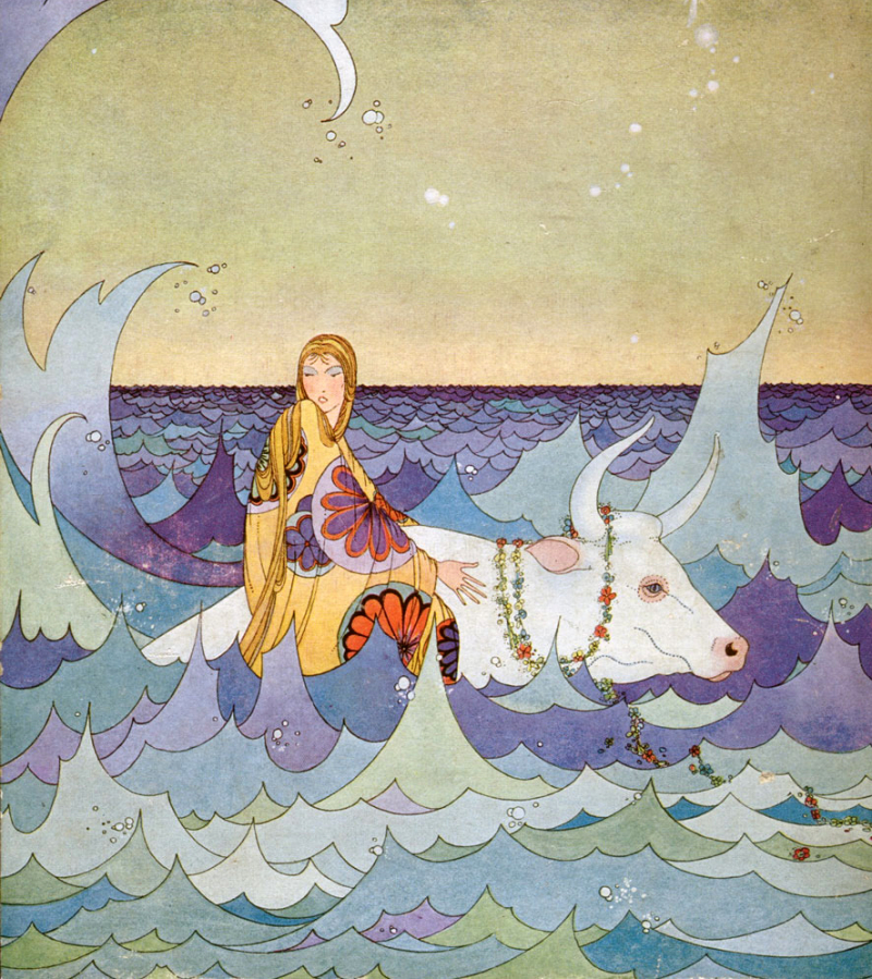 From Tanglewood Tales illustrated by Virginia Frances Sterrett (1921)