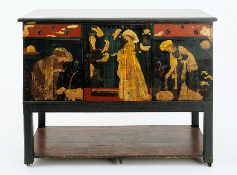 Ladies & Animals sideboard by Edward Burne-Jones