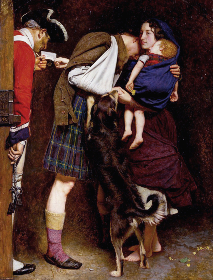 The Order of Release by John Everett Millais