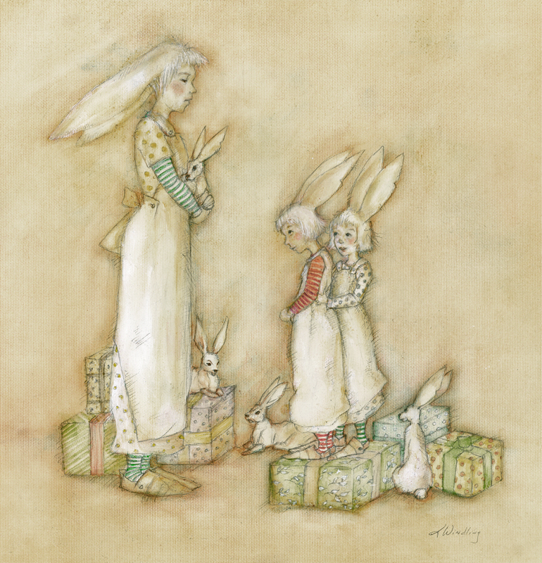 Bunny Gifts by Terri Windling