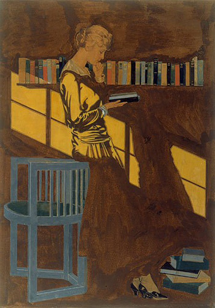 Reading by Coles Phillips