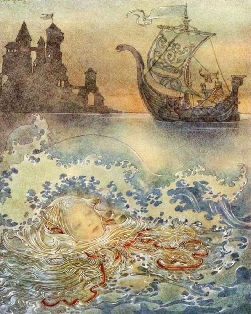 The Little Mermaid by Sulamith Wulfing