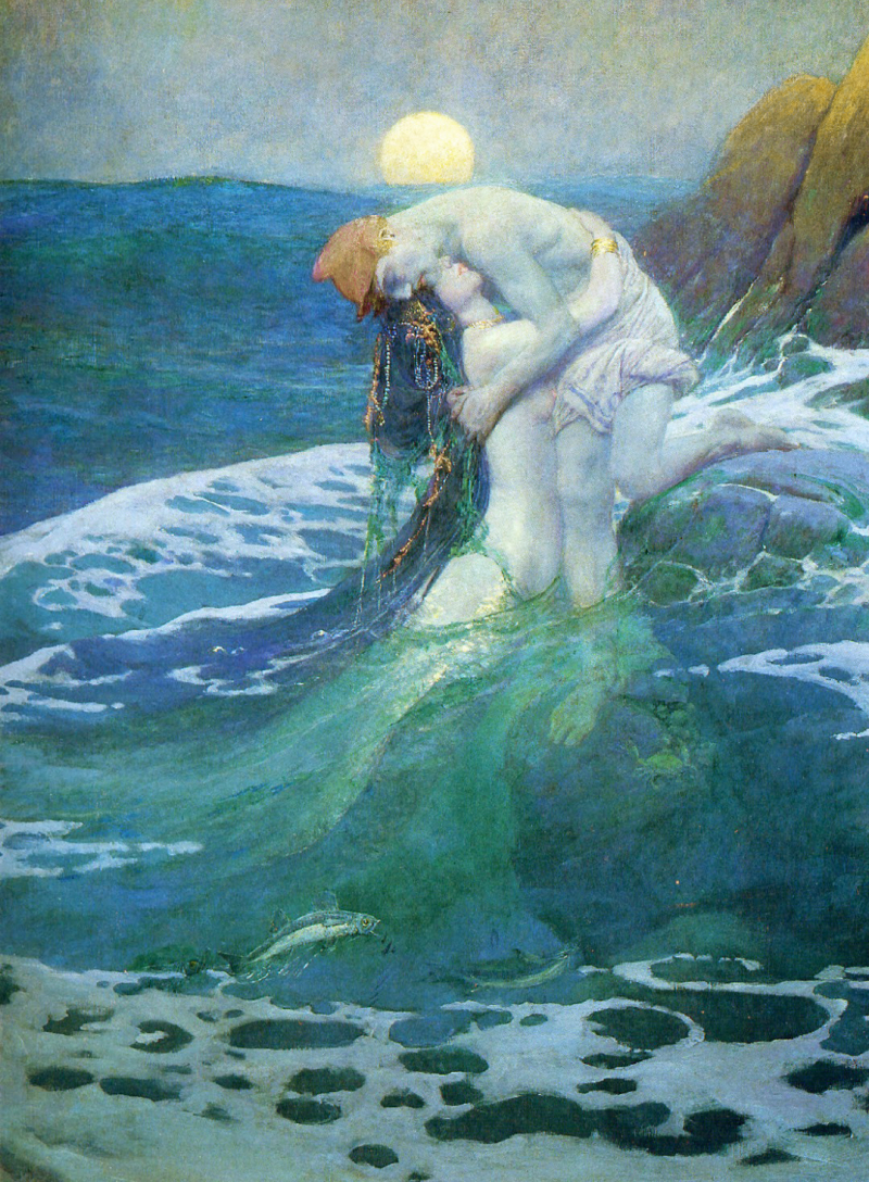 Mermaid by Howard Pyle
